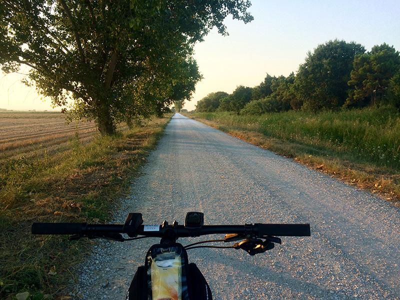 L'itinerario ciclopedonale tra Cervia e Ravenna