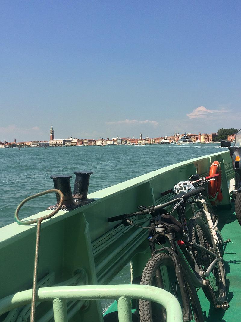 L'arrivo a Venezia